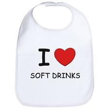 I love soft drinks Bib