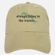 the Trainer Baseball Baseball Cap