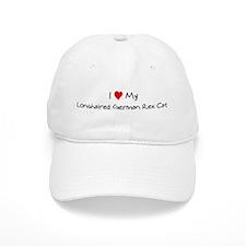 Love My Longhaired German Rex Baseball Cap