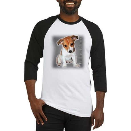 Jack Russell Puppy Baseball Jersey