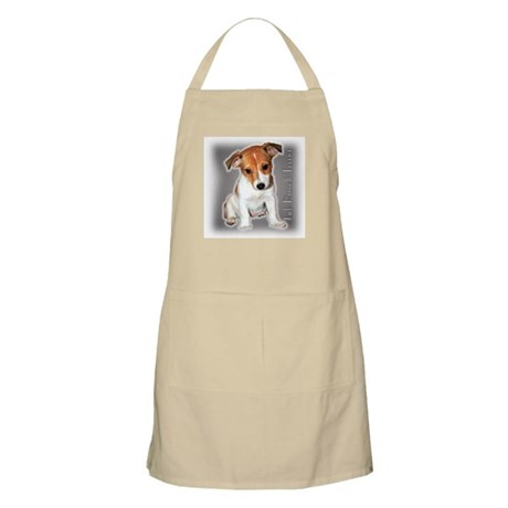 Jack Russell Puppy BBQ Apron