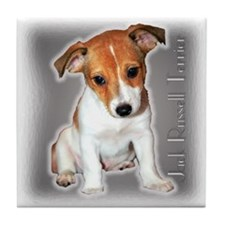 Jack Russell Puppy Tile Coaster