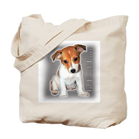 Jack Russell Puppy Tote Bag