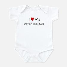 Love My Devon Rex Cat Infant Bodysuit