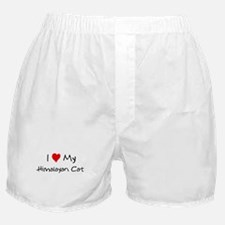 Love My Himalayan Cat Boxer Shorts