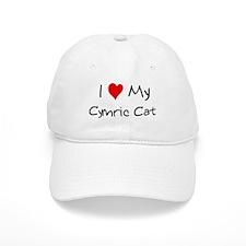 Love My Cymric Cat Baseball Baseball Cap