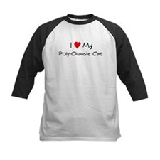 I Love Poly-Chausie Cat Tee