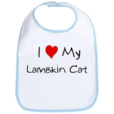 Love My Lambkin Cat Bib