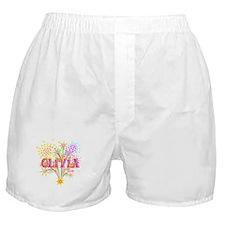 Sparkle Celebration Olivia Boxer Shorts