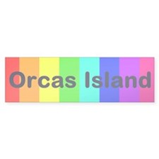 Orcas Island Bumper Bumper Sticker