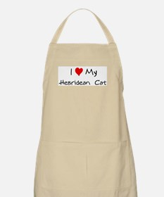 Love My Hebridean  Cat BBQ Apron