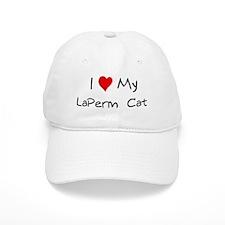 Love My LaPerm Cat Baseball Cap