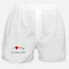 Love My Criollo Cat Boxer Shorts