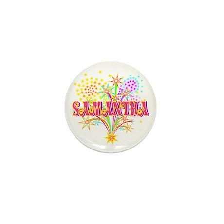 Sparkle Celebration Samantha Mini Button (10 pack)