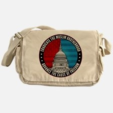 Eradicate The Muslim Brotherhood Messenger Bag
