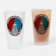 Eradicate The Muslim Brotherhood Drinking Glass