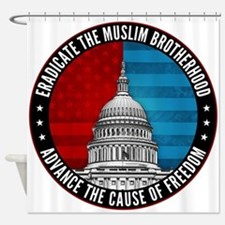 Eradicate The Muslim Brotherhood Shower Curtain