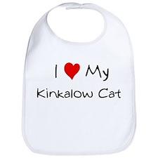 Love My Kinkalow Cat Bib