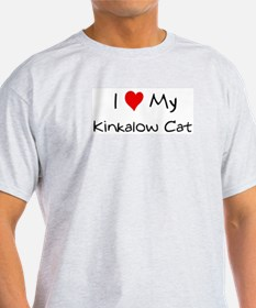 Love My Kinkalow Cat Ash Grey T-Shirt