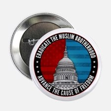"Eradicate The Muslim Brotherhood 2.25"" Button"