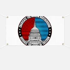 Eradicate The Muslim Brotherhood Banner