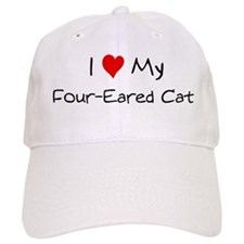 Love My Four-Eared Cat Baseball Cap