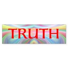 Funny The truth Bumper Sticker