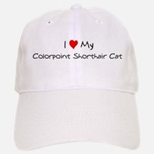 Love My Colorpoint Shorthair Baseball Baseball Cap