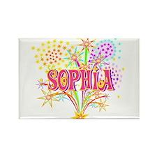 Sparkle Celebration Sophia Rectangle Magnet (100 p