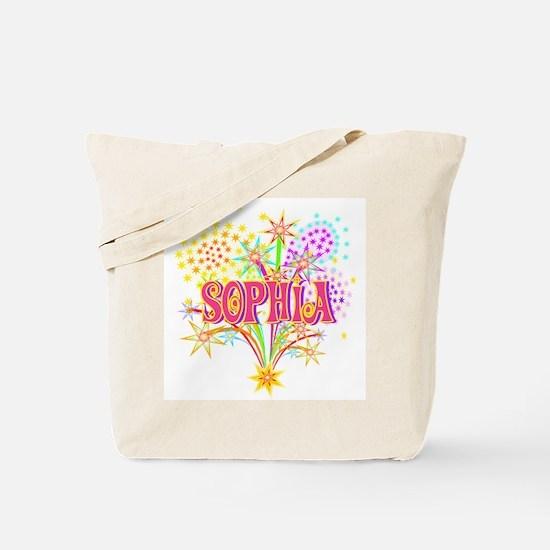 Sparkle Celebration Sophia Tote Bag