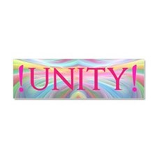 Cute Unity Car Magnet 10 x 3