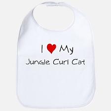 Love My Jungle Curl Cat Bib