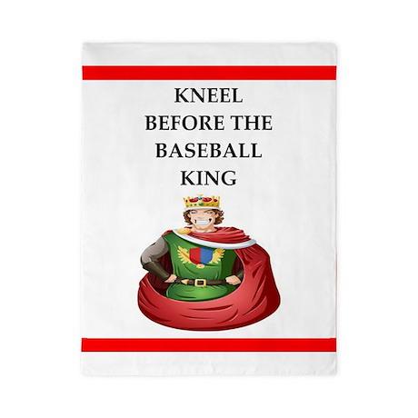 baseball Twin Duvet Cover