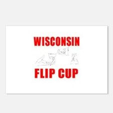Wisconsin Beer Pong Postcards (Package of 8)