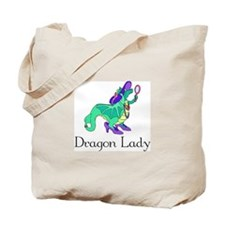 Dragon Lady Tote Bag