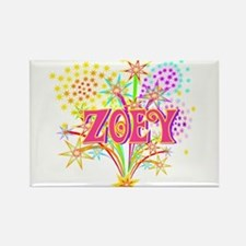 Sparkle Celebration Zoey Rectangle Magnet