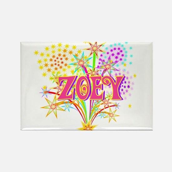 Sparkle Celebration Zoey Rectangle Magnet
