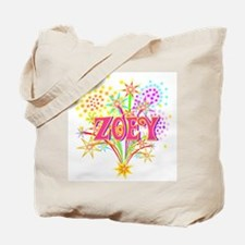 Sparkle Celebration Zoey Tote Bag