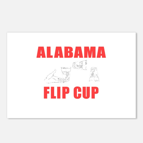 Alabama Flip Cup Postcards (Package of 8)