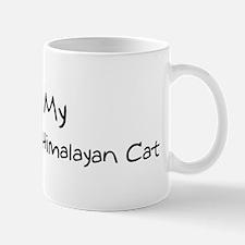 I Love Non-Pointed Himalayan  Mug