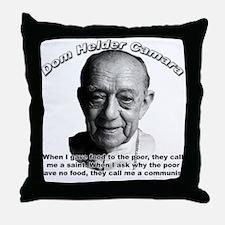 Dom Helder Camara 01 Throw Pillow