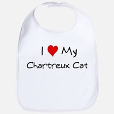Love My Chartreux Cat Bib