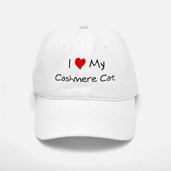Love My Cashmere Cat Baseball Baseball Cap