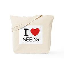 I love seeds Tote Bag