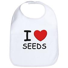 I love seeds Bib