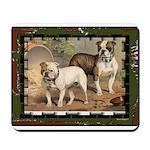 Bulldog Dogs Mousepad