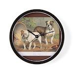 Bulldog  Dogs Wall Clock