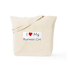 Love My Burmilla Cat Tote Bag