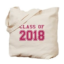 Class of 2018 (Pink) Tote Bag