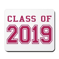 Class of 2019 (Pink) Mousepad